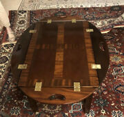 Councill Craftsmen Mahogany Butlers Coffee Table