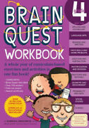 Brain Quest Workbook Grade 4 [with Over 150 Stickers And Mini-card Deck And