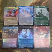 Mtg Forgoton Realm Dragon Set Boosters Extended Foil All Species