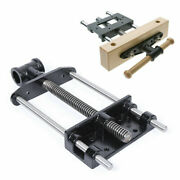 Heavy Duty 7inch Wood Bench Woodworking Tool Vice Cast Iron Structure Adjusting
