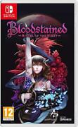 Bloodstained Ritual Of The Night Nintendo Switch Neuf Sous Bliste