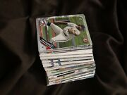 106 Mixed Collection Rookie Baseball Cards Bowman Pro Debut Topps And More
