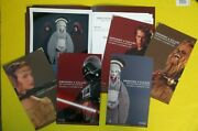 Star Wars Dressing A Galaxy Press Kit Fidm Promo With Glossy Photo 5 Cards More