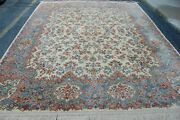 Mint Authentic Karastan Kirman Ivory_color Pattern 788 Rug Carpet 8and0398 X 10and0396