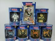 Rudolph And The Island Of Misfit Toys Collectible Ornaments, Lot Of 6 Plus Bonus