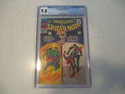 Amazing Spiderman 37 Cgc 9.0 Off White To White Pages 1st Norman Osborn