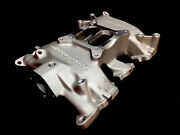 Factory Supercharger Blue Thunder Ford 292 312 Y Block 4 Barrel Intake Manifold