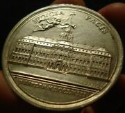 1763 Silver Peace Medal End Of French Indian War Nice