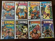 The Thing Comic Lot 20 Diff 1-34 6.0fn 1983-1986