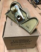 Lie-nielsen - No. 95 Bronze Edge Plane - Right - New - Box And Paperwork -andnbsp