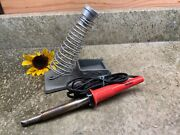 Weller Sp-80 Soldering Iron 80 Watt Includes Chisel Tip W/ Prostand Assembly