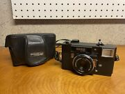 Konica C35 Af Point And Shoot 35mm Film Camera W/ Hexanon 38mm F2.8 Lens Tested