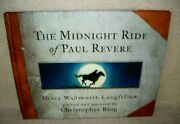 The Midnight Ride Of Paul Revere - Hardback - Childrenand039s Book - 2001