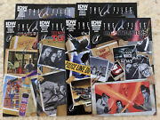 The X-files Conspiracy Comic Set Transformers Turtles Crow Ghostbusters Idw