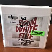 The Room Of White Fire Audio Book Cd Set T. Jefferson Parker Fiction Thriller