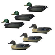 6 Pieces Duck Decoy Floating With Weighted Keel For Hunting Fishing