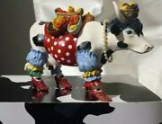 New In Box Cows On Parade Figurine Tropicowl Item 7703