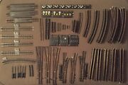 Ho Scale Brass Track Lot Over 115 Pieces Mostly Atlas Tyco Etc. - Nice Variety