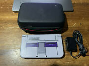 New Nintendo 3ds Xl Snes Edition Collector's   Case, Charger And Pokemon Games