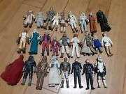 Vintage Star Wars Figure And Vehicles Lot 1977-1983