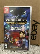 Minecraft Story Mode The Complete Adventure Nintendo Switch Game Last One