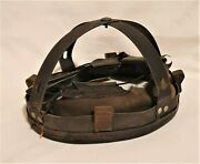 Ww2 Pattern British Army Mkii Combat Helmet Liner Nut And Bolt Large Size 7 1/2