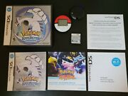 Pokemon Soul Silver With Pokewalker New Battery Tested Authentic Great Condition