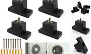4 Pack Rubber Vibration Isolator, Anti-vibration Air Conditioner Mounting
