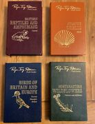 Roger Tory Peterson Field Guides 50th Anniversary 4 Volumes Easton Press Birds