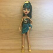 Monster High 13 Wishes Desert Frights Oasis Cleo De Nile Doll Only - Needs Tlc