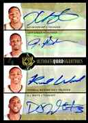 Kevin Durant Russell Westbrook 2008-09 Ud Ultimate Rookie Autograph Auto 7/8 Rc