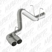 Mbrp 11-15 Chevy/gmc 2500/3500 4in Filter Back Dual Outlet Single Side T304
