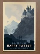 Olly Moss Harry Potter And The Deathly Hallows Movie Book Art Print Mondo Artist