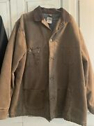 Euc Menand039s Jacket Size Xl Tall- Brown