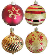 Christmas By Krebs Tv310005a 5.9 In. Diameter Decorated Shatterproof Ornament -