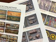 Marx 60mm Western Town Roy Rogers Mineral Silver City Playset Guide W/ Pictures