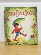 1950 Little Sambo Book Published Whitman Co. Tell Tale Book Suzanne Black