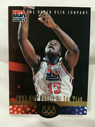 Shaquille Oneal 1996 Team Usa Die Cut Upper Deck Lakers Basketball Card