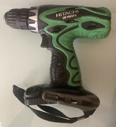 Hitachi Ds14dvf3 Cordless Drill Driver 14.4v Tool Only, No Battery Tested