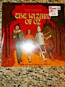 The Songs From The Wizard Of Oz Vintage 12 Vinyl Record Lp Factory Sealed