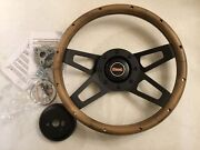 International Harvester Scout Ii New Replacement Steering Wheel Complete Kit