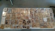 Huge Lot Of Stampin Up Stamps - 52 Sets/ 408 Stamps + 100 Others - 508 Total