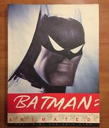 Batman Animated By Chip Kidd Paul Dini And Dc Comics Staff 1998 Paperback Book