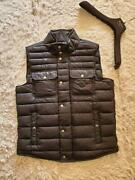 Moncler Down Jacket Size L Ever Lightweight Vest Size 3 Cowhide Patches Used I