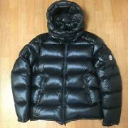 Moncler Down Jacket Size M Price Zin Gin 1 Black Used In Japan No.1197