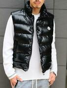 Moncler Down Jacket Size Xsss Sold Out Tib Vest Black 0 Used In Japan No.1721