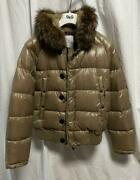 Moncler Down Jacket Size L Monclay Used In Japan No.1792