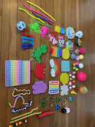 Fidget Toy Pack For Stress Relief 43 Pieces - Multicolored
