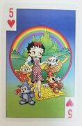 Vintage 1998 The Best Of Betty Boop Playing Cards With Box 2 Jokers