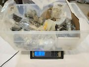 Lot Of Fossil Watch 17+ Lbs. Parts Cases Bands Used And New Container Not Included
